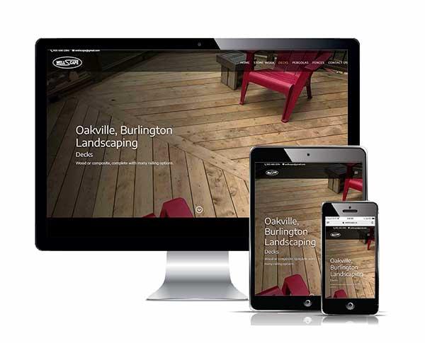 Wellscape Responsive web design