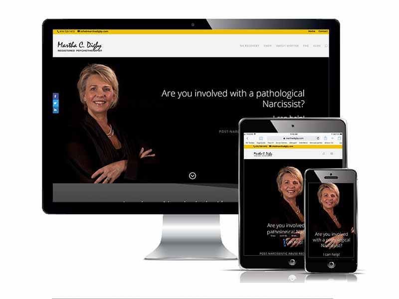 Martha Digby Responsive web design