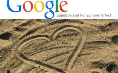 What is the Google sandbox?