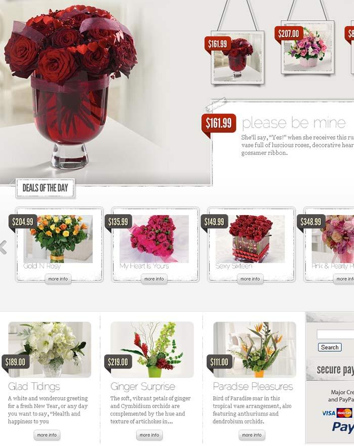 E-commerce website screenshot