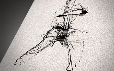Martial Arts Drawings