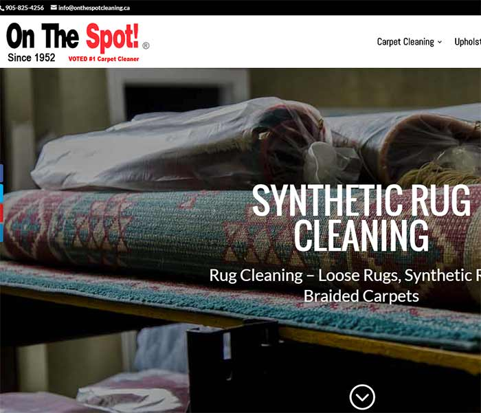 Synthetic Rug Cleaning