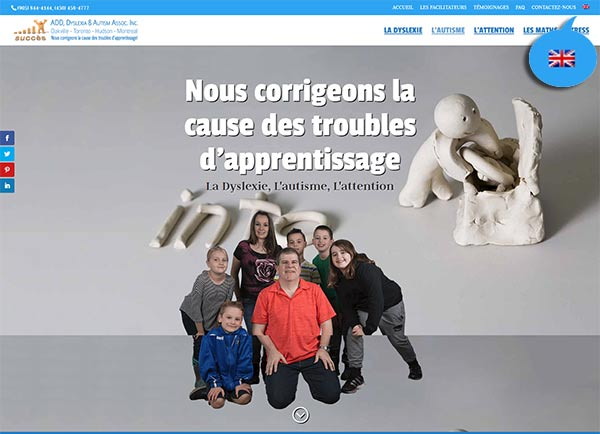 Multilingual web design