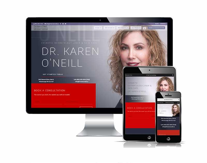 Zehr Insurance responsive web design