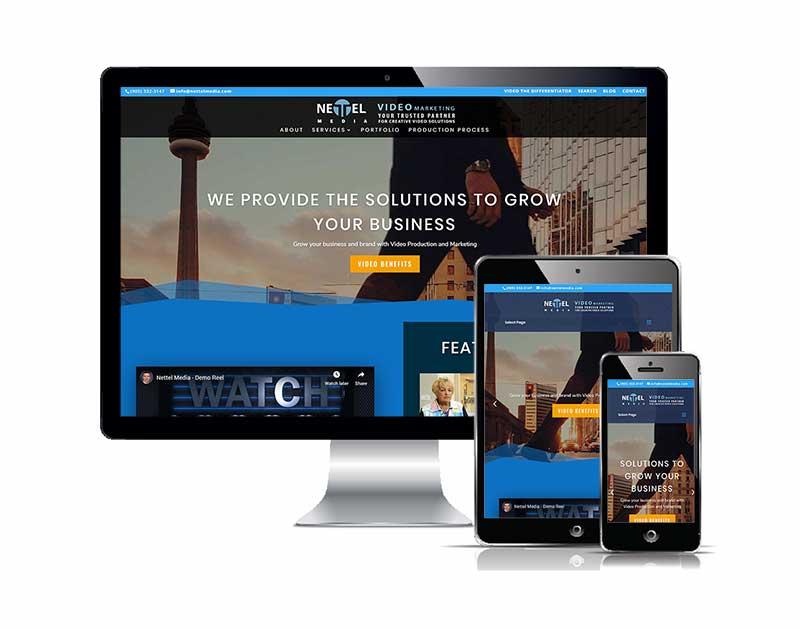 Nettel Media Responsive web design